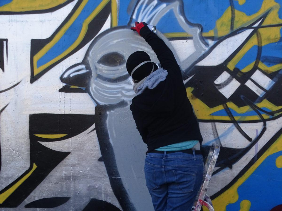Femmes et graffiti: une histoire en demi-teinte