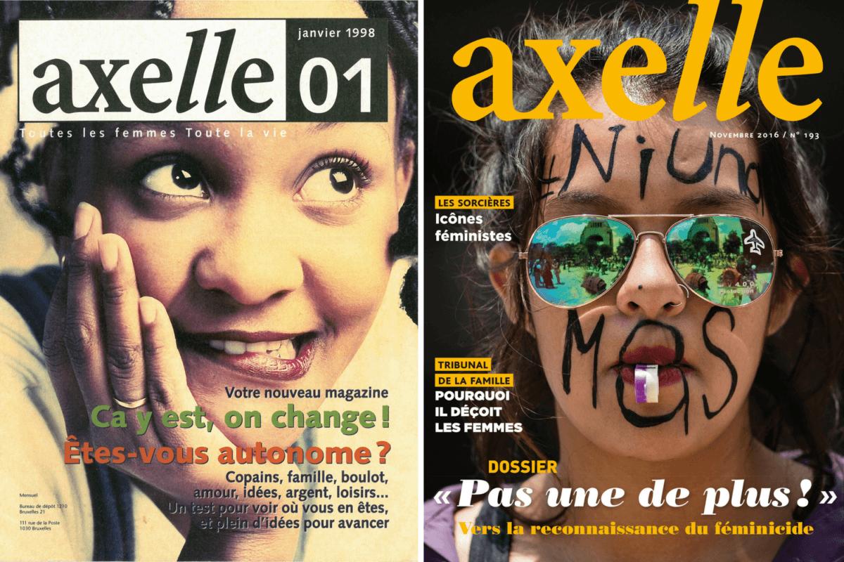 Joyeux anniversaire axelle: depuis 20 ans, notre magazine informe et agit pour les droits des femmes