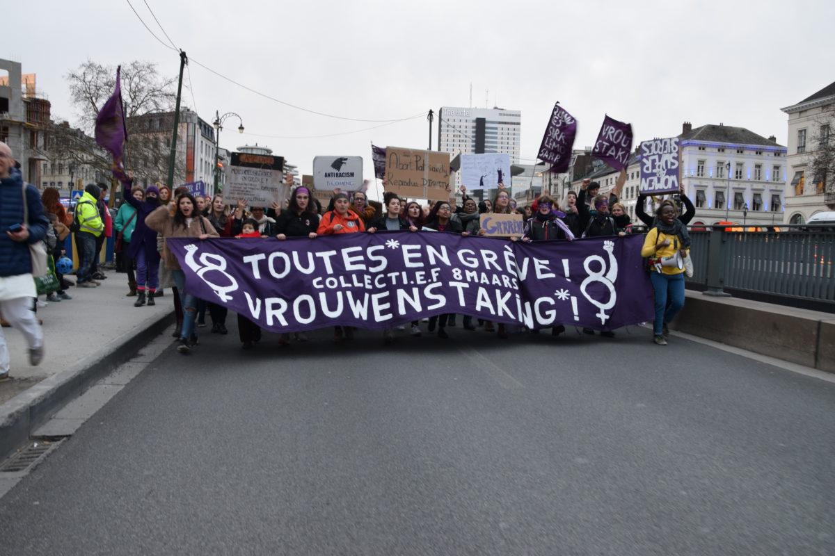 C'était le 8 mars 2019: la grève des femmes en Belgique