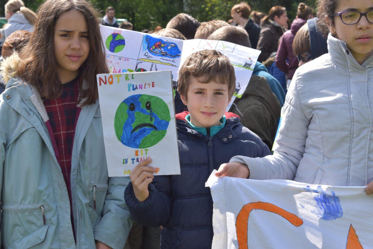 Belgique: À la rencontre de jeunes marcheuses pour le climat