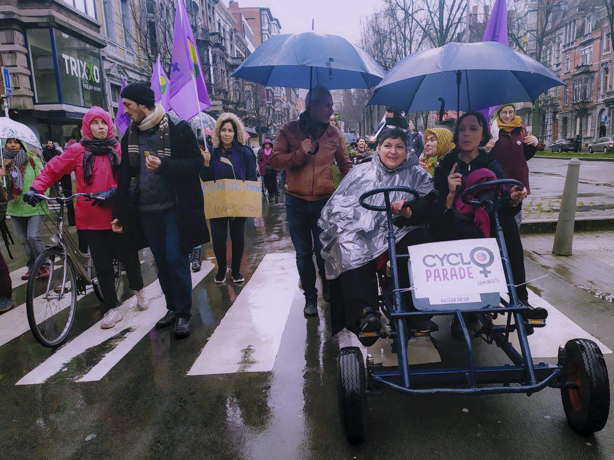 7 et 8 mars 2020: au cœur des mobilisations féministes à Liège