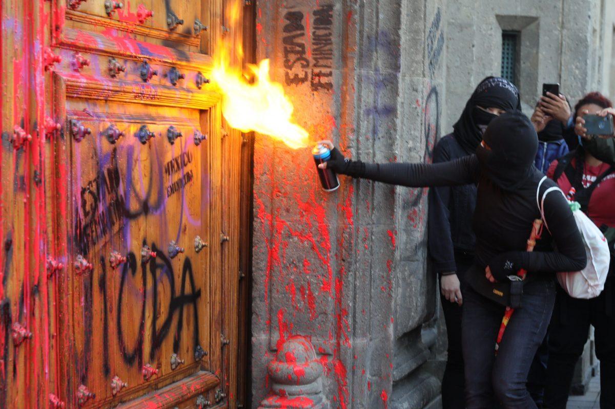 Les Mexicaines veulent tout casser pour protester contre les féminicides